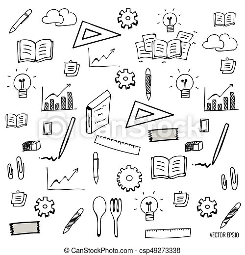 Application icons design. Vector illustration - csp49273338