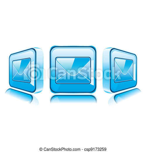 Application icons for Smart Phone isolated on white background. - csp9173259
