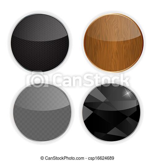 Application icons set vector illustration - csp16624689
