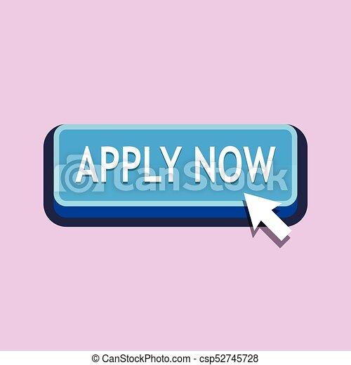 Apply Now Button - csp52745728
