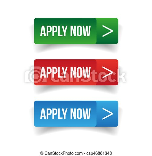 Apply Now button set - csp46881348