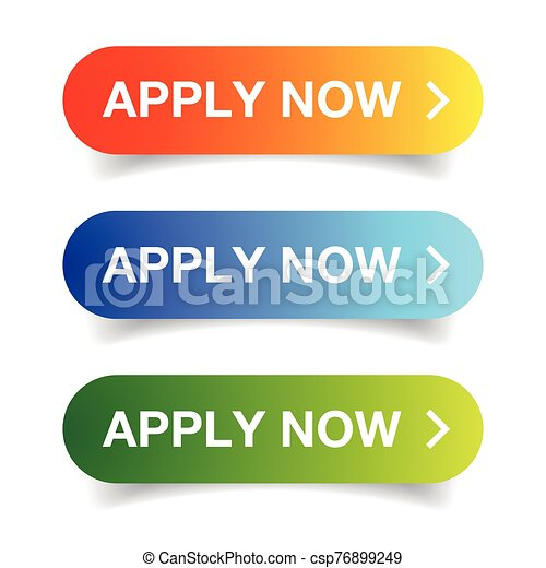 Apply Now Call to action button - csp76899249