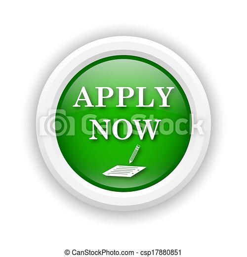 Apply now icon - csp17880851