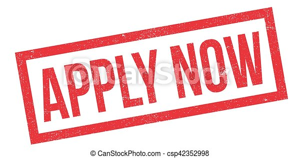 Apply Now rubber stamp - csp42352998