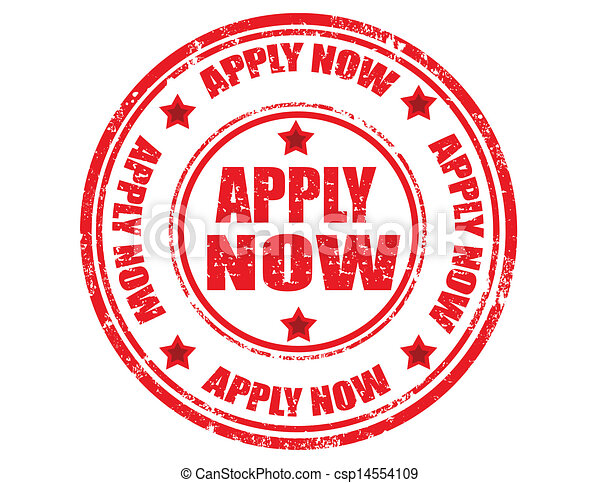 Apply now-stamp - csp14554109