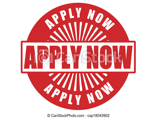 Apply now stamp - csp18043902