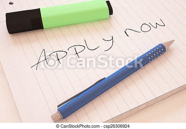 Apply now - csp26306924