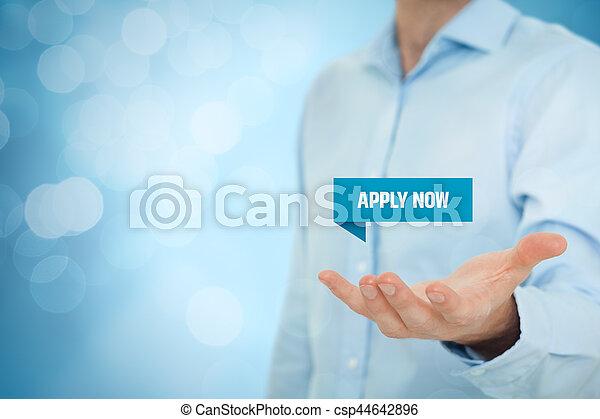 Apply now - csp44642896