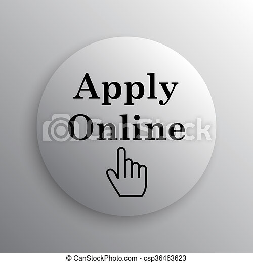 Apply online icon - csp36463623