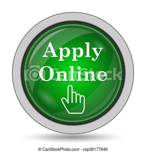 Apply online icon - csp36177649