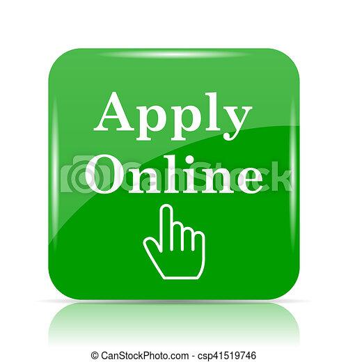 Apply online icon - csp41519746