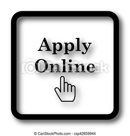 Apply online icon - csp42659944