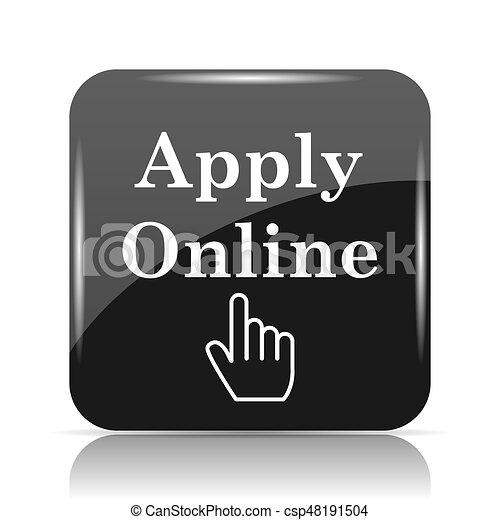 Apply online icon - csp48191504
