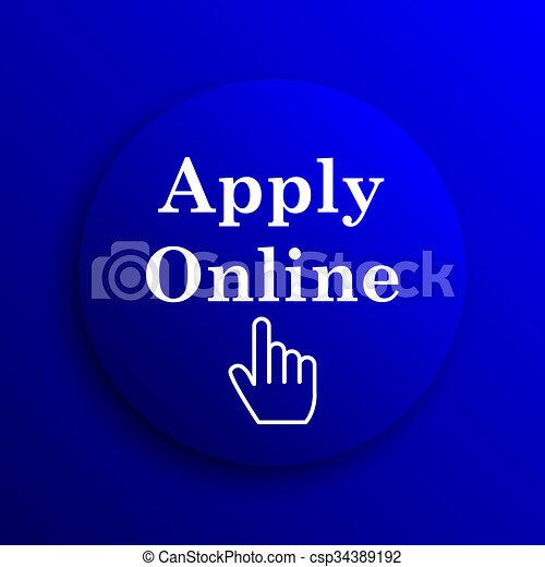 Apply online icon - csp34389192