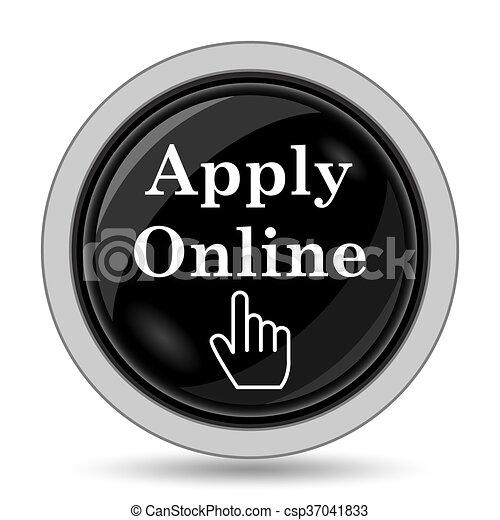 Apply online icon - csp37041833