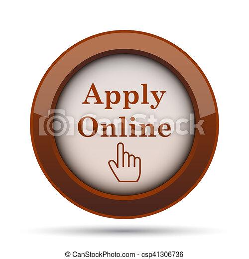 Apply online icon - csp41306736