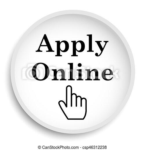 Apply online icon - csp46312238
