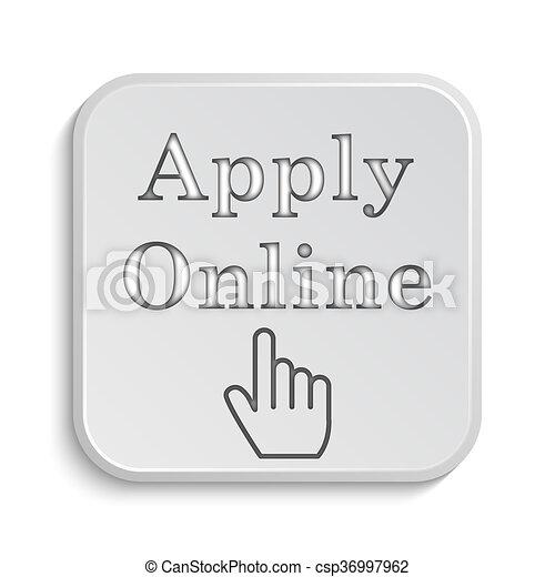Apply online icon - csp36997962