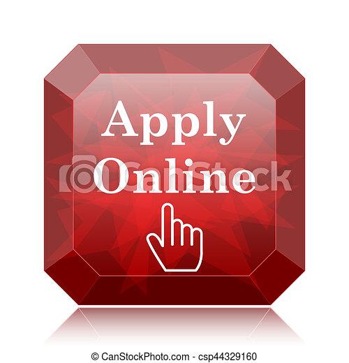 Apply online icon - csp44329160