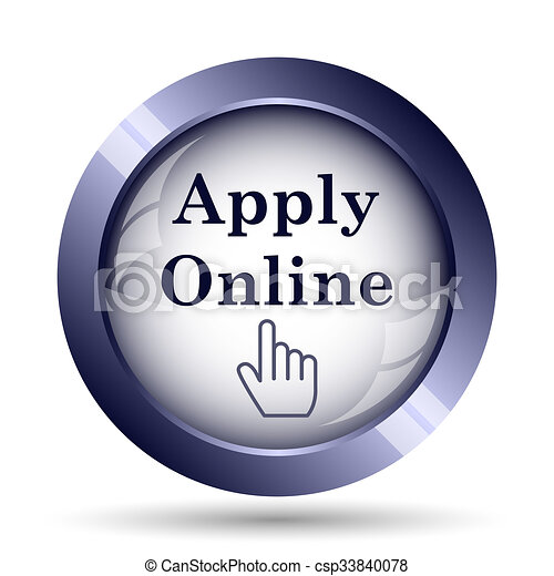 Apply online icon - csp33840078