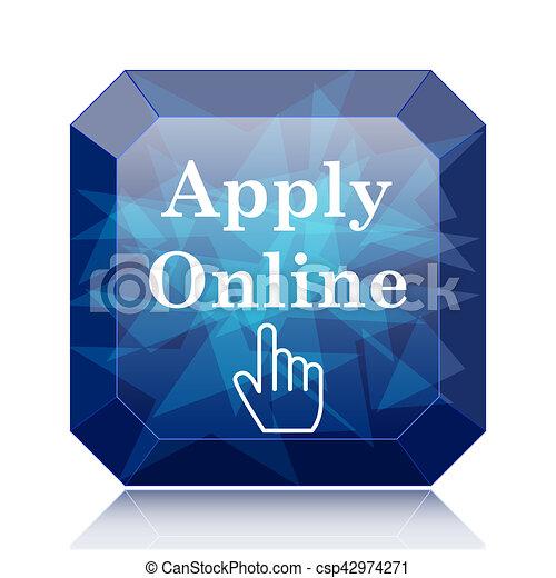 Apply online icon - csp42974271