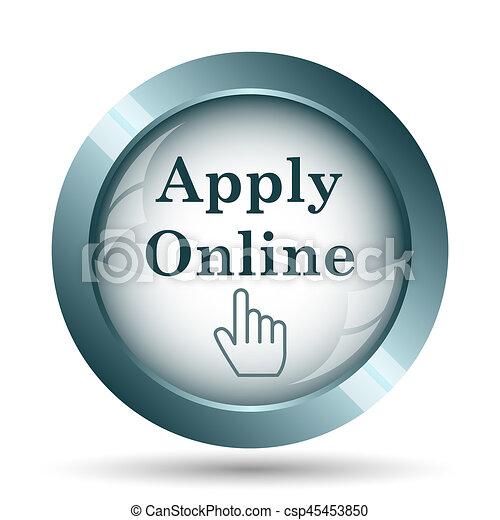 Apply online icon - csp45453850
