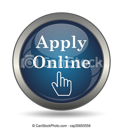 Apply online icon - csp35650556