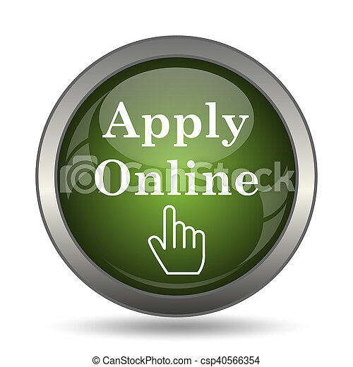 Apply online icon - csp40566354