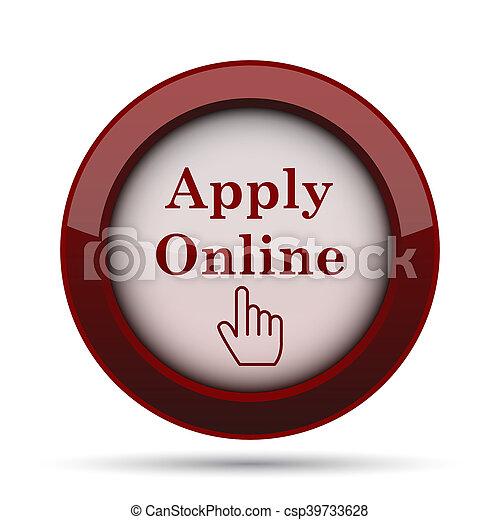 Apply online icon - csp39733628