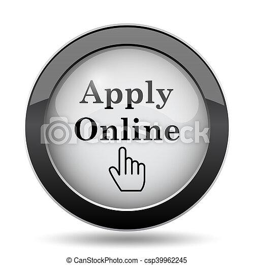 Apply online icon - csp39962245