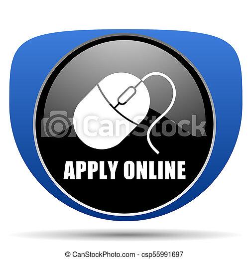 Apply online web icon - csp55991697