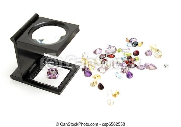 Appraisal of Gemstones - csp6582558