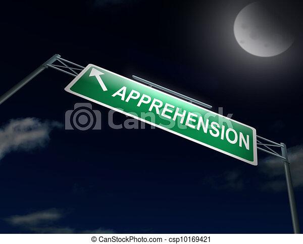 Apprehension Concept