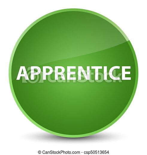 Apprentice elegant soft green round button - csp50513654