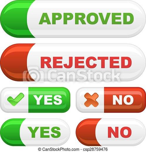 Approved and rejected - csp28759476