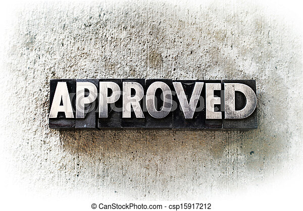 Approved - csp15917212