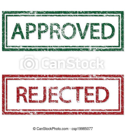 Approved Rejected - csp19985077