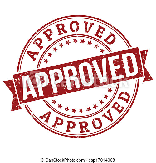 Approved stamp - csp17014068