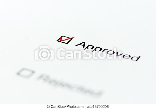 Approved. - csp15790206