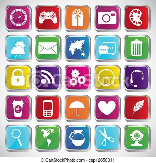 apps, markt - csp12650311