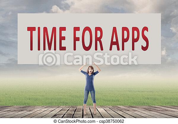 Hora de aplicaciones - csp38750062