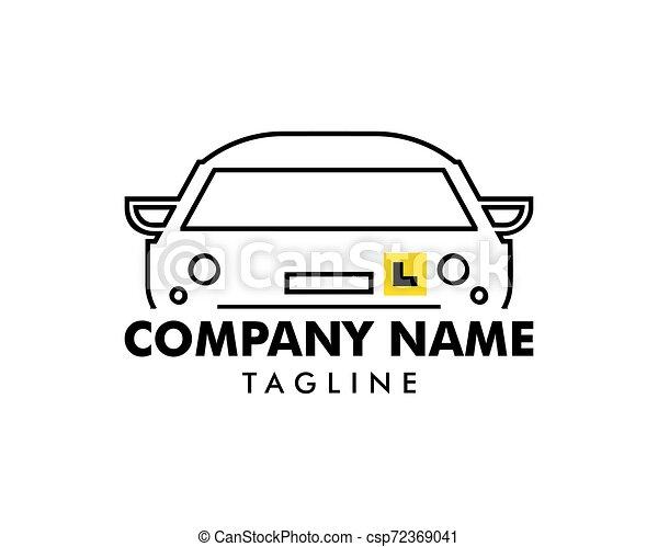 Icono vector de ilustración de la plantilla de logo - csp72369041