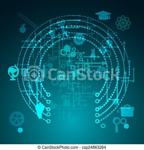 Aprendizaje en línea - csp24863264