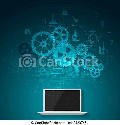 Aprendizaje en línea - csp24237484