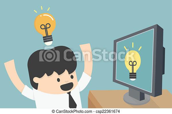 Aprendizaje en Internet - csp22361674