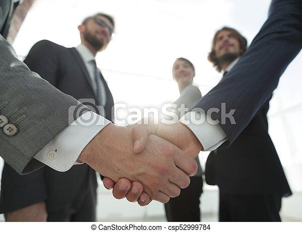Concepto de negocios, gente de negocios - csp52999784