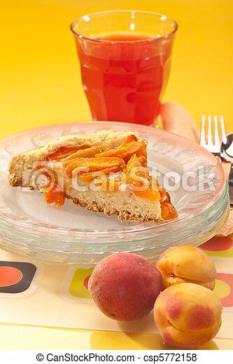 apricot cake - csp5772158