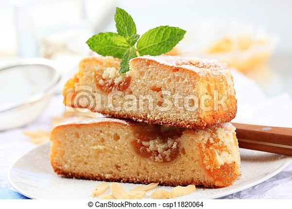 Apricot cake - csp11820064