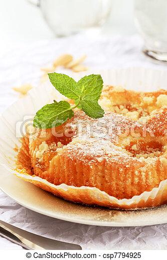 Apricot cake - csp7794925
