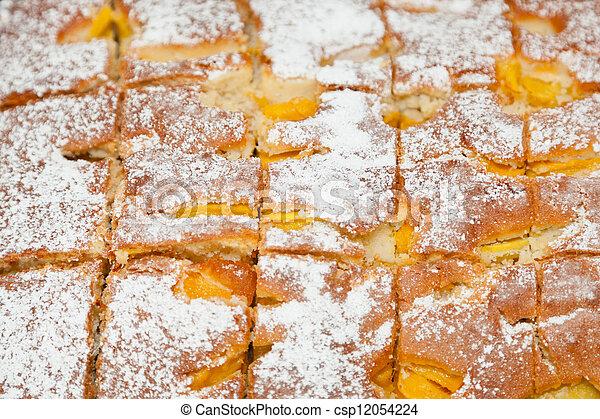 Apricot cake - csp12054224